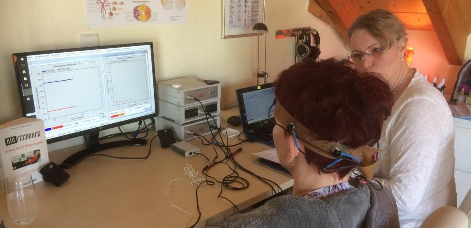 Titelbild 1: Biofeedback / Neurofeedback - Training